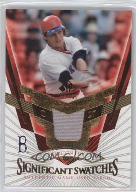 2004 SP Legendary Cuts SIGnificant Swatches #SS-CF - Carlton Fisk