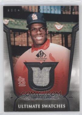 2004 SP Legendary Cuts Ultimate Swatches #US-BG - Bob Gibson