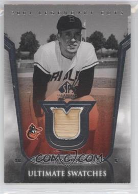 2004 SP Legendary Cuts Ultimate Swatches #US-BR - Brooks Robinson