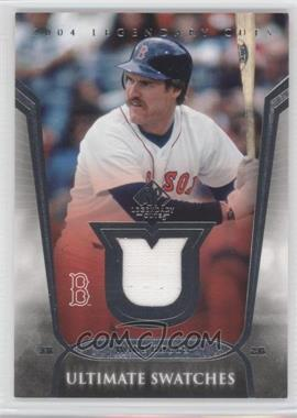 2004 SP Legendary Cuts Ultimate Swatches #US-WB - Wade Boggs