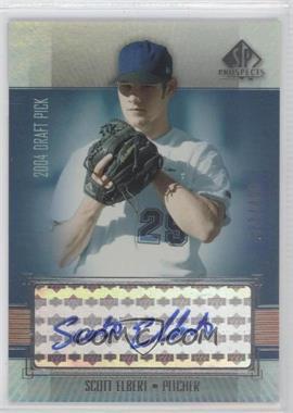2004 SP Prospects - [Base] #299 - Scott Elbert /400