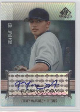 2004 SP Prospects - [Base] #320 - Jeffrey Marquez /400