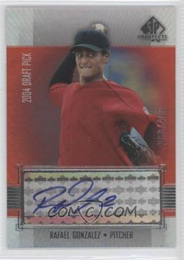 2004 SP Prospects - [Base] #381 - Rafael Gonzalez