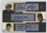 Wade Boggs, Delmon Young, Reid Brignac /25