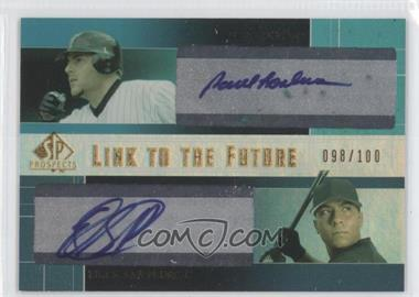 2004 SP Prospects - Link to the Future Dual Autographs #LF-LS - Paul Lo Duca, Erick San Pedro /100