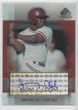 2004 SP Prospects [???] #JA - Jonathan Ash /400