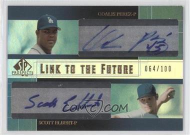 2004 SP Prospects [???] #LF-PE - Odalis Perez, Scott Elbert /100