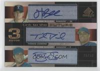 Hank Blalock, Thomas Diamond, William Susdorf /50
