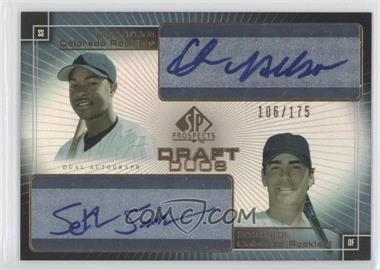 2004 SP Prospects Draft Duos Autographs #DD-NS - Seth Smith, Chris Nelson /175