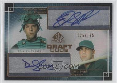 2004 SP Prospects Draft Duos Autographs #DD-PI - [Missing] /175