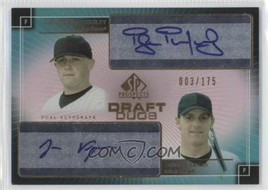 2004 SP Prospects Draft Duos Autographs #DD-TV - Taylor Tankersley, Jason Vargas /175