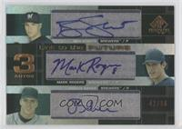 Ben Sheets, Mark Rogers, Joshua Baker /50