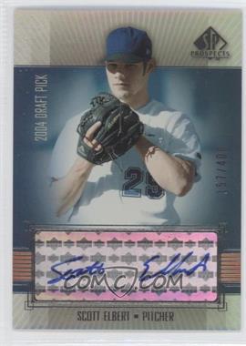 2004 SP Prospects #299 - Scott Elbert /400