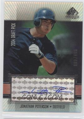 2004 SP Prospects #316 - Jonathan Poterson /400