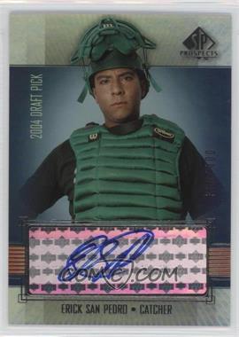 2004 SP Prospects #330 - Erick San Pedro /400
