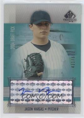 2004 SP Prospects #343 - Jason Vargas /600