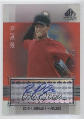 2004 SP Prospects #381 - Rafael Gonzalez
