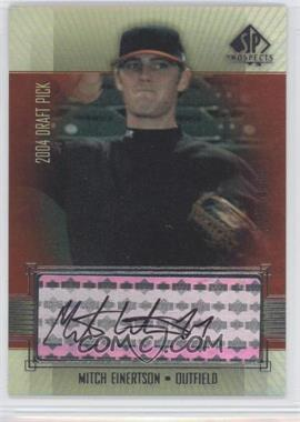 2004 SP Prospects #417 - Mitch Einertson /400