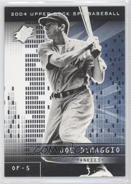 2004 SPx - [Base] #107 - Joe DiMaggio