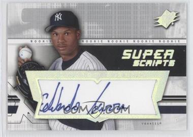 2004 SPx - Super Scripts Rookie Autographs #SU-ES - Edwardo Sierra