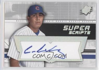 2004 SPx Super Scripts Rookie Autographs #SU-CV - Carlos Vasquez