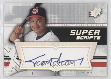 2004 SPx Super Scripts Rookie Autographs #SU-IO - Ivan Ochoa