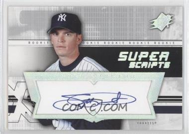 2004 SPx Super Scripts Rookie Autographs #SU-SP - Scott Proctor