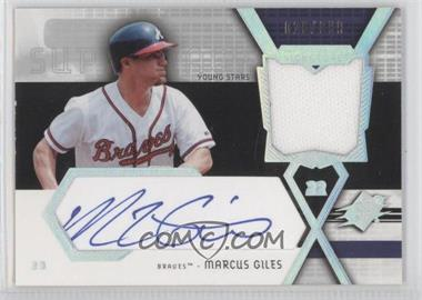 2004 SPx Swatch Supremacy Young Stars #SS-MG - Marcus Giles /999