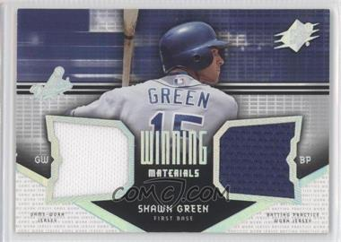 2004 SPx Winning Materials #WM-SG - Shawn Green