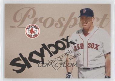 2004 Skybox Autographics #96 - Kevin Youkilis /1500