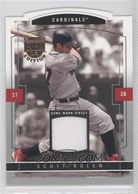 2004 Skybox Limited Edition - Jersey Proof - Silver #43 - Scott Rolen /50