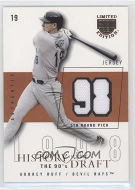 2004 Skybox Limited Edition [???] #HD-AH - Aubrey Huff /98