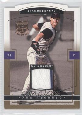2004 Skybox Limited Edition Jersey Proof Gold #3 - Randy Johnson /10