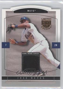 2004 Skybox Limited Edition Jersey Proof Silver #33 - Jose Reyes /50