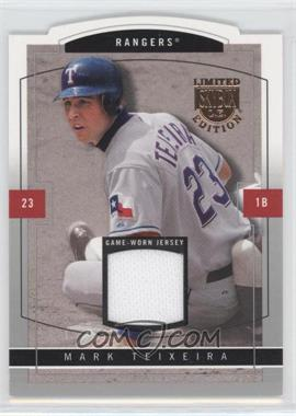 2004 Skybox Limited Edition Jersey Proof #47 - Mark Teixeira /299