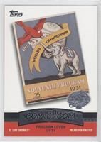 St. Louis Cardinals Team, Philadelphia Athletics Team