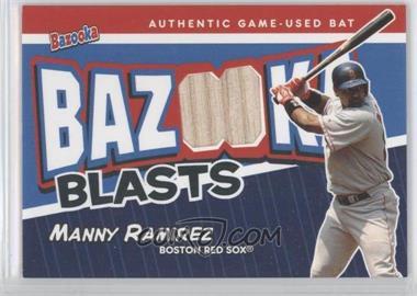 2004 Topps Bazooka Blasts Bats #BB-MR - Manny Ramirez