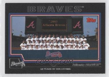 2004 Topps Black #640 - Atlanta Braves /53