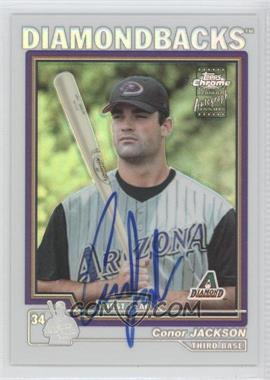 2004 Topps Chrome Refractor #236 - Conor Jackson /100