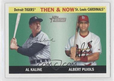 2004 Topps Heritage Then & Now #TN2 - Albert Pujols, Al Kaline