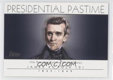 2004 Topps Presidential Pastime #PP11 - James K. Polk