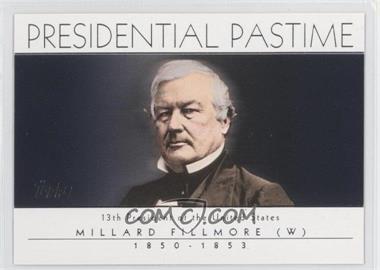 2004 Topps Presidential Pastime #PP13 - Millard Fillmore