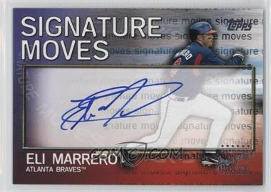 2004 Topps Traded and Rookies - Signature Moves #SM-EM - Eli Marrero