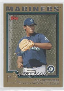 2004 Topps Traded and Rookies Gold #T144 - Felix Hernandez /2004