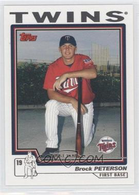 2004 Topps Traded and Rookies #T169 - Brock Peterson