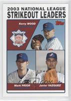 Kerry Wood, Mark Prior, Javier Vazquez
