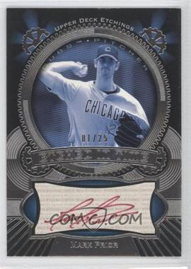2004 Upper Deck Etchings - Etched in Time Autographs - Red Ink #ET-MP - Mark Prior /25