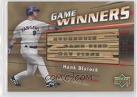Hank Blalock /50