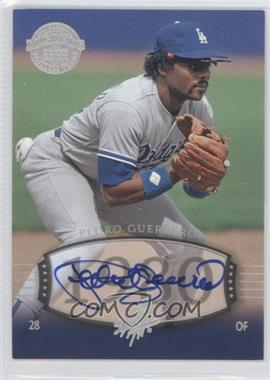 2004 Upper Deck Legends Timeless Teams - [Base] - Silver Autographs [Autographed] #181 - Pedro Guerrero