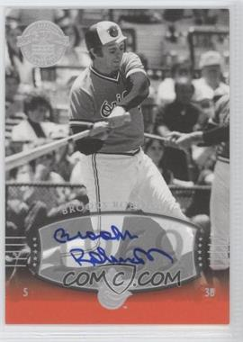 2004 Upper Deck Legends Timeless Teams Silver Autographs [Autographed] #40 - Brooks Robinson